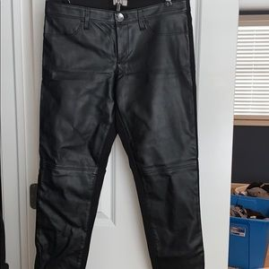 Banana republic Sloan faux leather leggings